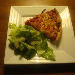 Beetroot & Onion Tart