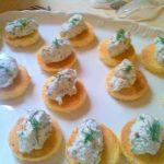 Salmon, Lemon & Dill Brioche