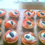 Smoked Salmon Bread Baskets