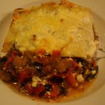 Roasted Vegetable Lasagne with Cottage Cheese