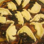 Shallot Tart Tatin with Goats Cheese