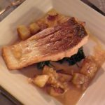Spice Crusted Salmon with Beurre Blanc