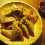 Baked Meat Samosas