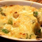 Bay Scallop & Asparagus Mornay
