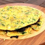 Omelette Au Boudin De Nancy (omelette with black pudding)