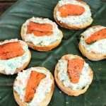 Smoked Salmon, Cream Cheese & Dill Pintxos