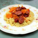 Chorizo with Red Onions & Oranges