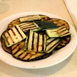 Griddled Courgette & Aubergine