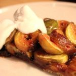 Fig Tart with Goats Cheese Cream