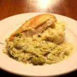Chicken with Tarragon & Mustard Leeks