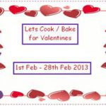 Let's Cook / Bake For Valentines Logo