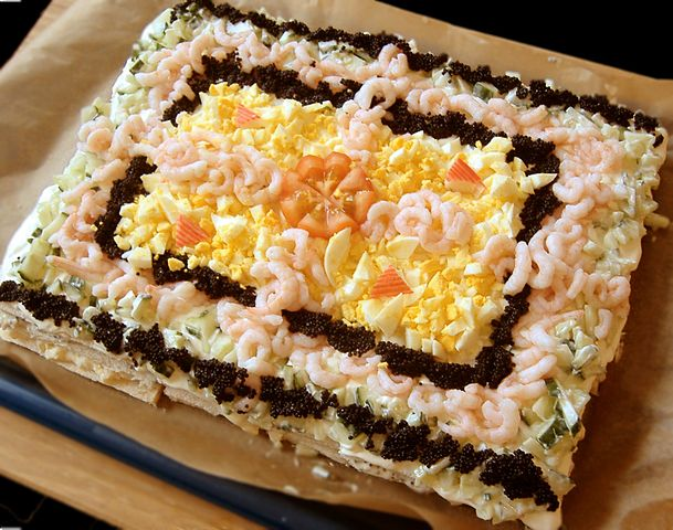 Seafood Surprise Choux Buns Delicieux