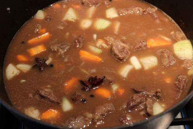 Beef Daube / Stew with Orange Ginger & Star Anise