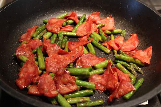 Chorizo & Asparagus