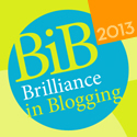 BritMums Brilliance In Blogging Logo