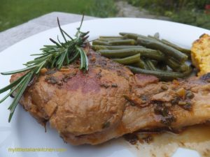 Herby Pork Chops in Beer Sauce by My Little Italian Kitchen