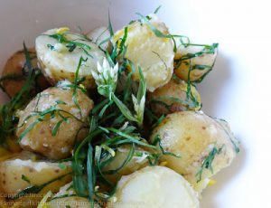 Potatoes with Wild Garlic & Lemon by Farmersgirl Kitchen