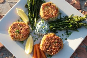 Smoked Salmon Fishcakes by Chez Foti