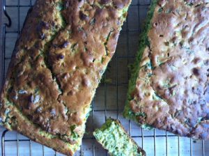 Cornbread with wild garlic & za'atar by Chip Butties & Noodle Soup