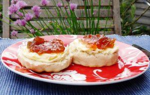 Rhubarb Lemon & Vanilla Jam