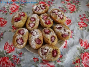 Raspberry & Pistachio Financiers