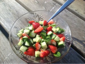 Pimms Salad