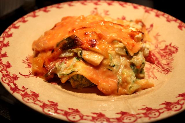 Salmon & Courgette Lasagne