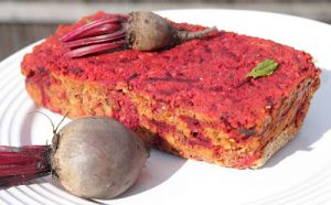 Beetroot Nut Roast