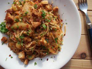 Crab & Fennel Pasta