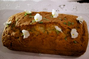 Courgette, Thyme & Lemon Drizzle Cake