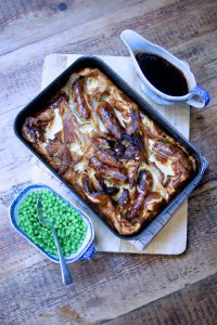 Sausage & Apple Toad in the Hole