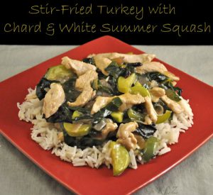Stir Fried Turkey & Chard