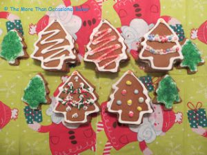 Gingerbread surprise cookies
