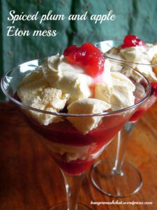 Spiced Plum & Apple Eton Mees