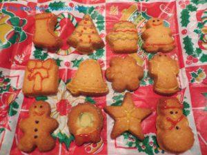 Xmas Vanilla Cookies