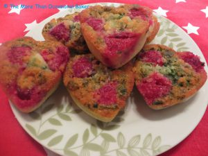 Raspberry & Basil Financiers