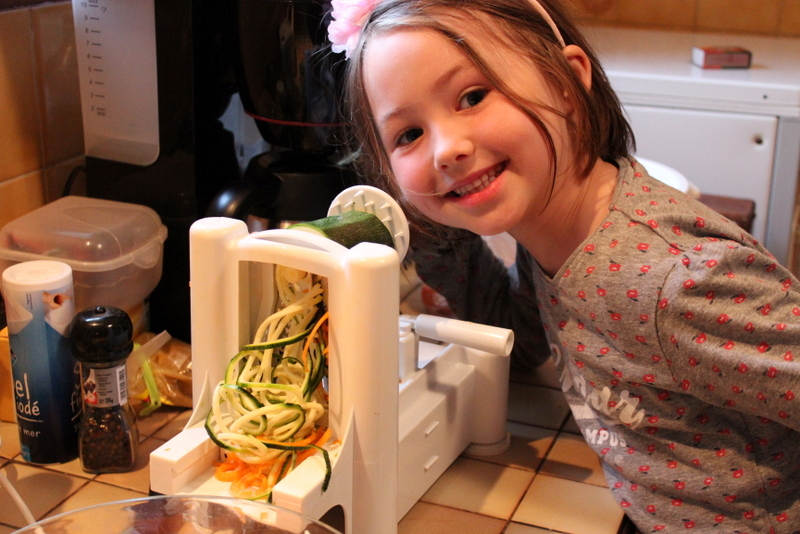 Kara and Vegetable Spiralizer