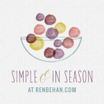 Simple & in Season Badge