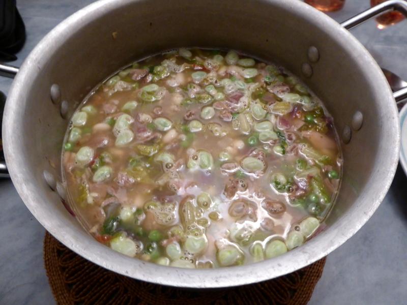 Lamb Bean & Lettuce Stew