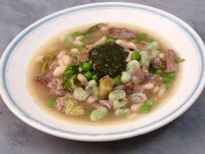 Lamb Bean Stew Petit Pois a la Francais