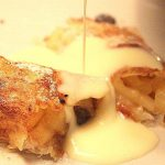 Apple & Date Strudels made with Brick Pastry