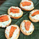 Smoked Salmon, Cream Cheese & Dill Pintxos