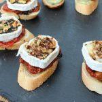 Sundried Tomato, Goats Cheese, Pistachio & Balsamic Pintxos