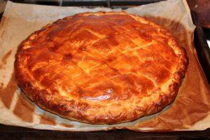 Croustade de Canard cooked - duck pie