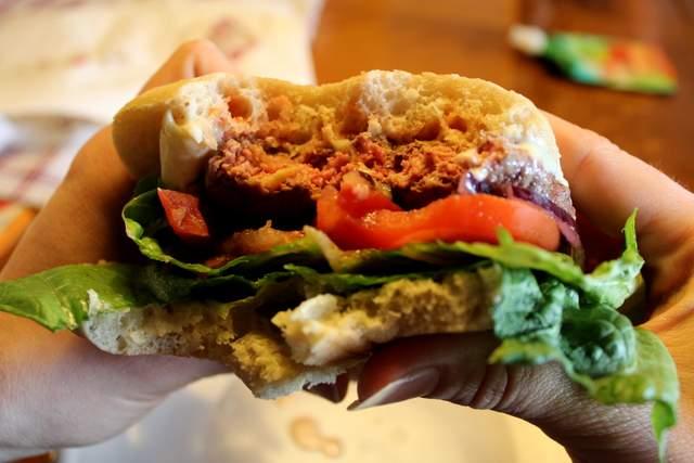 Steak Hache Burger from Grasspunk