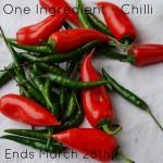 One Ingredient Chilli