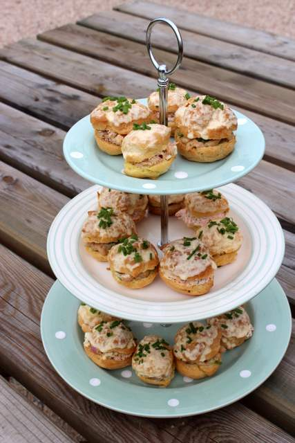 Seafood Choux Pastry Buns