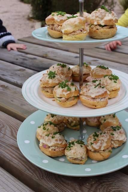 Seafood Surprise Choux Buns