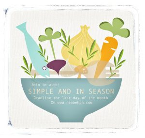 Simple & In Season Badge