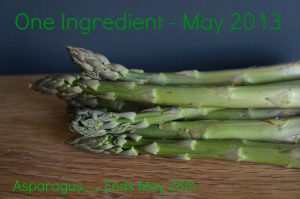 One Ingredient Challenge Asparagus